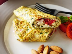 Cottage Cheese Omelet – Food Fusion